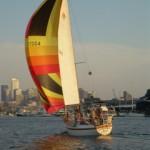 Solana under sail
