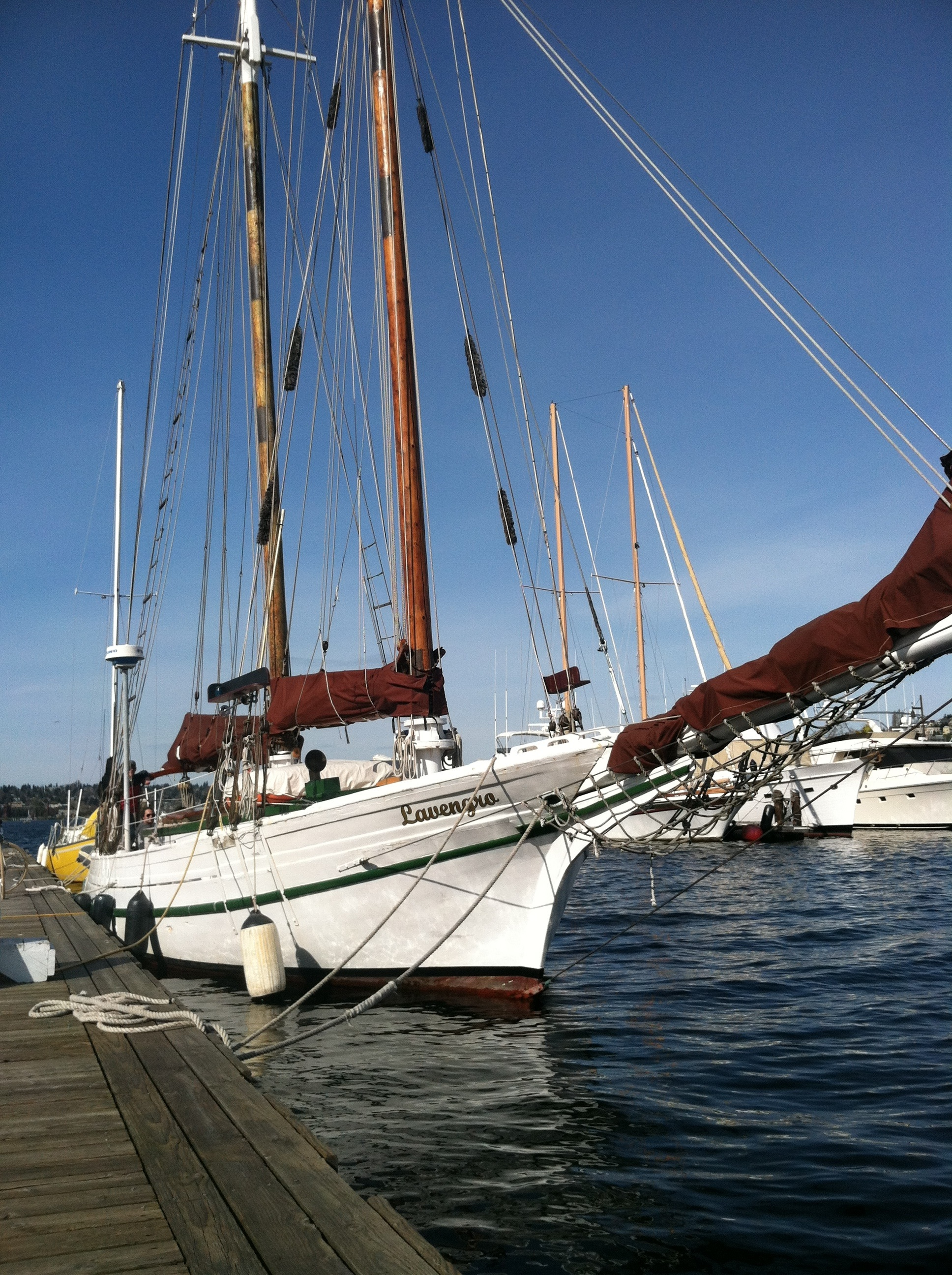 Schooner Lavengro | Lake Union Charters and Adventures
